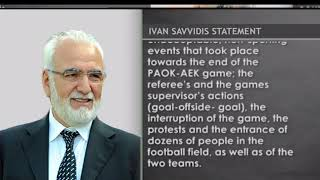 PAOK owner Ivan Savvidis apologises for invading pitch on Sunday