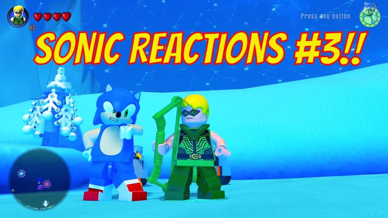 Download LEGO Dimensions - Sonic The Hedgehog Reactions #3: Green Arrow, Bane, Benny, Gollum and Cragger