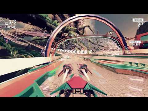 Redout - Race Mode PC 4K 60FPS Gameplay