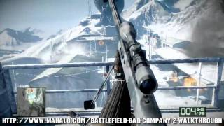 Battlefield: Bad Company 2 Walkthrough - Chapter 4: Crack the Sky Part 1 HD