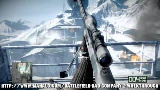 Battlefield: Bad Company 2 Walkthrough - Chapter 4: Crack the Sky Part 1 HD