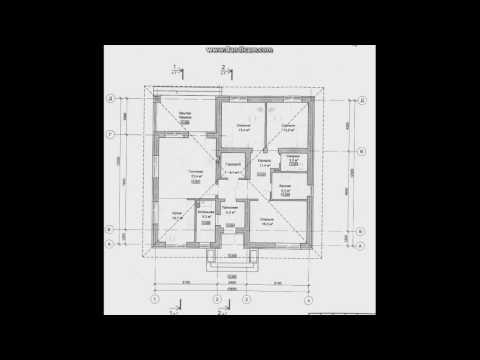 Проект объёмного одноэтажного дома  B-041-ТП