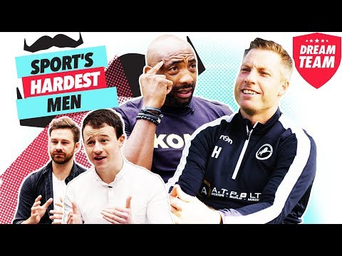 GETTING SERIOUS WITH SPORT'S HARDEST MEN