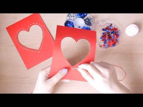 С Днем Святого Валентина! Музыкальная открытка. Видео открытка.