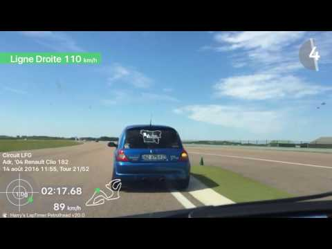 RACE DAY 14/08/16 LFG Battle de Clio 2RS