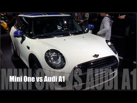Mini One 2015 Vs Audi A1 2015 Youtube