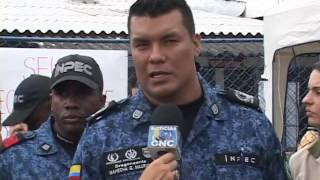 Repeat youtube video Nota 3 en Cali Funcionarios del Inpec Protestas por Proxima Masacre Laboral