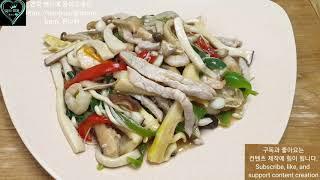 #1104. 퀸 냄비로 만든 버섯 류산슬. (유산슬) …