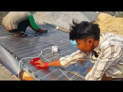 Amazing Creative Construction Worker You NEED To See install metal door 5