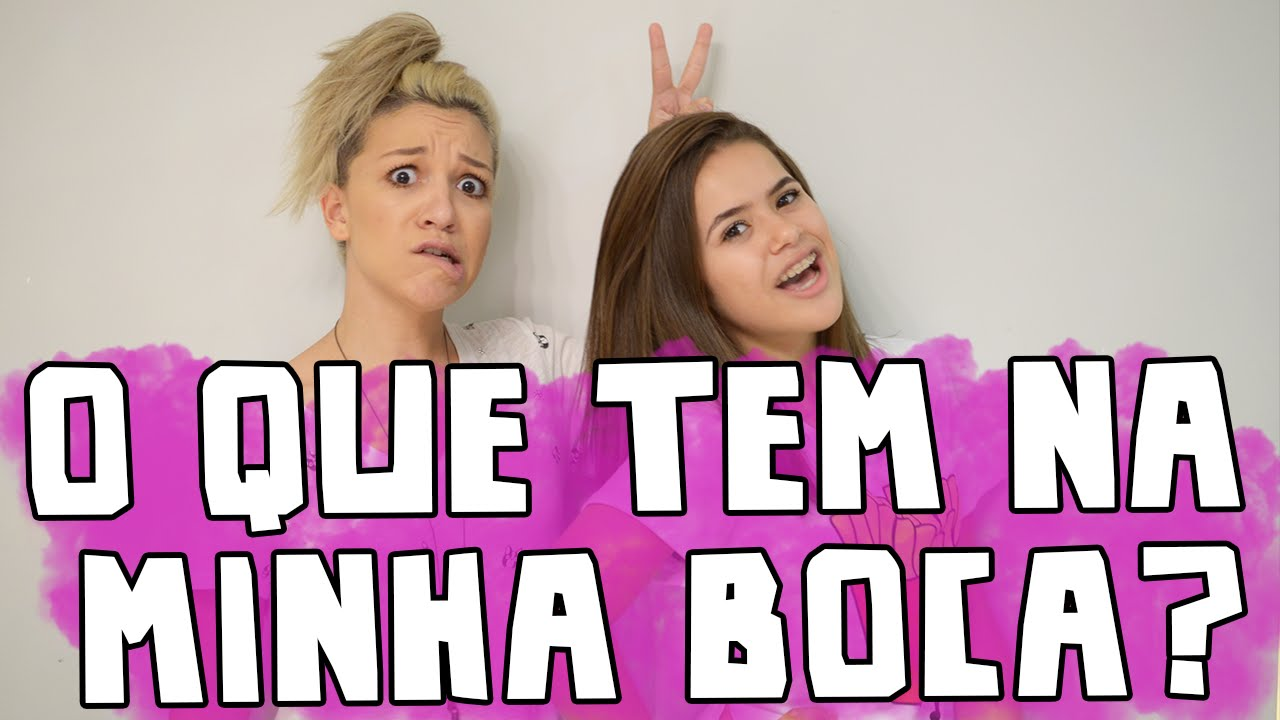 Desafio - O QUE TEM NA MINHA BOCA? ft. Priscilla Alcantara