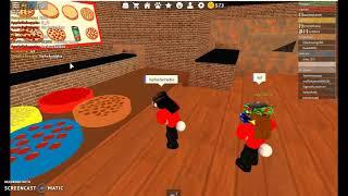 Roblox II travailler à une pizzeria #1