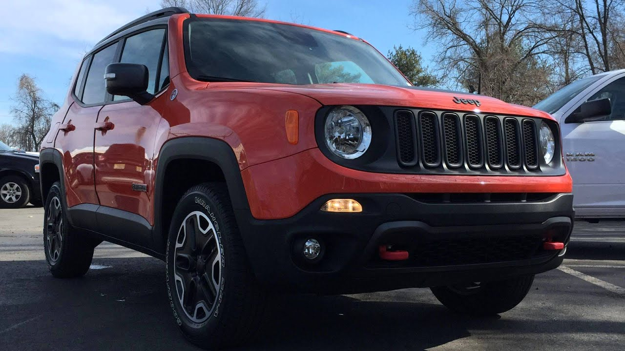 2015 jeep renegade trailhawk omaha orange youtube. Black Bedroom Furniture Sets. Home Design Ideas