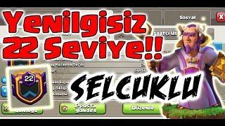 YENİLGİSİZ 22. SEVİYE !! | Türkiyede 1. Dünyada 4. | Clash of Clans