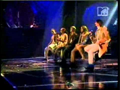 Backstreet boys - shape of my heart (live ema) Sweden.avi