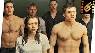 Eggsy & Roxy - Water Training Test Scene | Kingsman The Secret Service (2014) Movie Clip