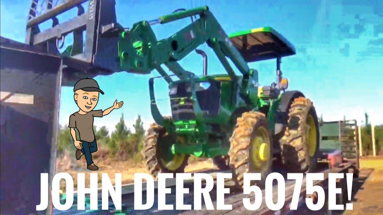 John Deere 5075e Wont Move
