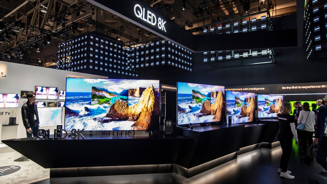 Best Qled Tv 2019 CES 2019: QLED 8K & The Wall   YouTube