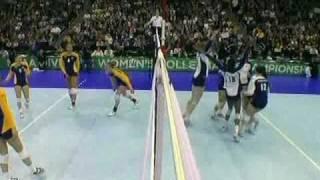Penn State vs. Cal : 2010 NCAA Women VolleyBall Final Game:Set 3