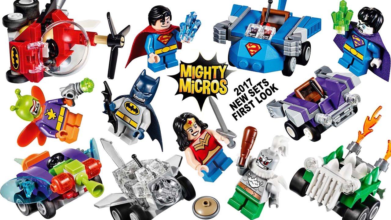 DC comics Super Heroes™ FIGURINES Mighty micros LEGO ® MARVEL
