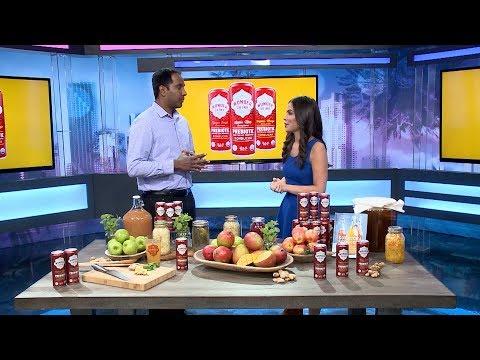 Great-Tasting Wonder Drink Kombucha Offers Prebiotic Functionality