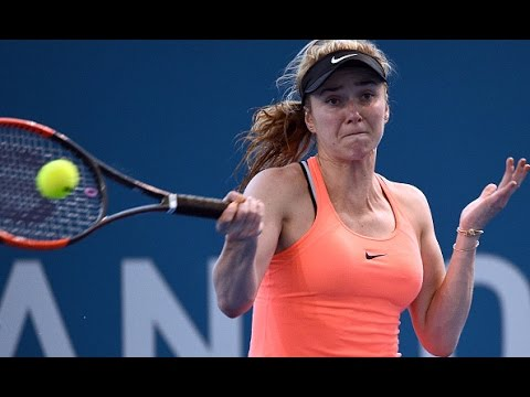 2017 Brisbane International Second Round | Elina Svitolina vs Shelby Rogers | WTA Highlights