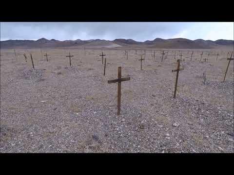 The Columbus Cemetery, Esmeralda County, Nevada