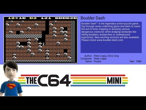 The C64 MINI Games - Boulder Dash