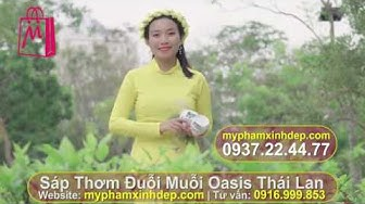 Cách sử dụng Sáp Thơm Đuỗi Muỗi Oasis Thái Lan ♡ MYPHAMXINHDEP.COM ♡ 0916.999.853