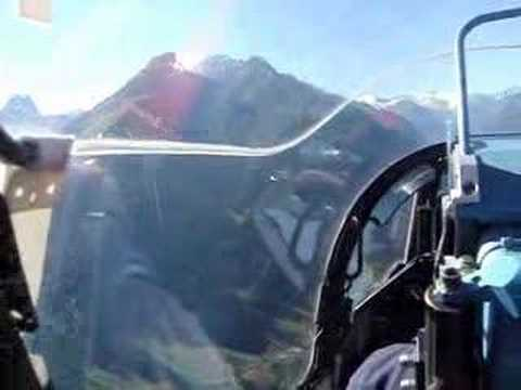 Flying through Austrian Alps in Red Bull´s Fighter Jet