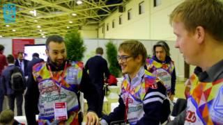 Антон Богданов провел мастер класс по роллер спорту для Евгения Белоголовцева