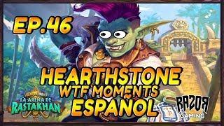 MEJORES MOMENTOS HEARTHSTONE ESPAÑOL | Episodio 46