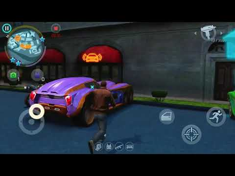 Escaping 5 Star Police With The Dauphin Gangstar Vegas