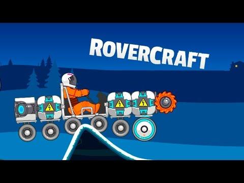 Машинки необычные ROVER CRAFT #2 Создай уникальную тачку ИГРА как мультик про машинки для детей
