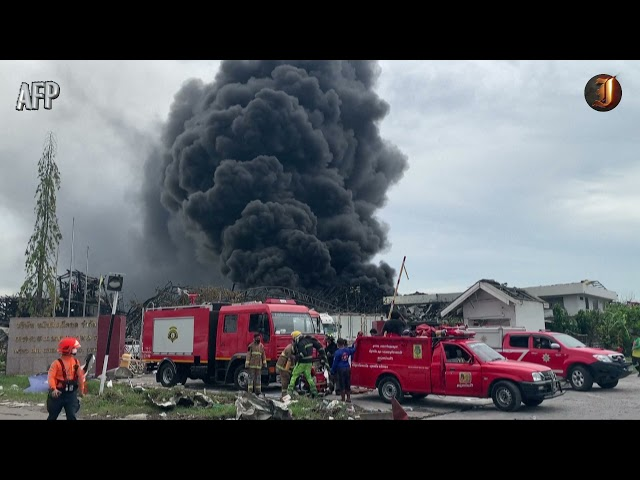 Firefighter dies with at least 33 people injured at Ming Dih Chemical blaze