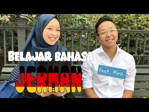 Belajar bahasa Jerman feat. Minh | Videonya Gita eps. 21