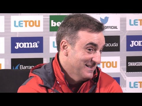 Carlos Carvalhal Full Pre-Match Press Conference - Leicester v Swansea - Premier League