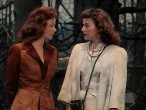 Tribute: Trio in The Forest Rangers 1942  Susan Hayward, Paulette Goddard, Fred MacMurray