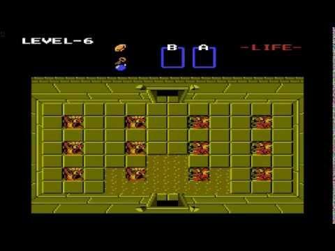 The Legend of Zelda for Nes Dungeon 6 Quest 2 walkthrough