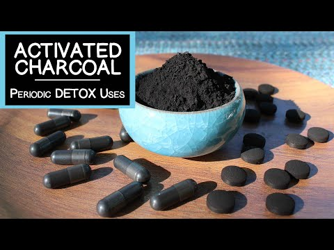 Activated Charcoal, Detox Uses as a Periodic Dietary Supplement