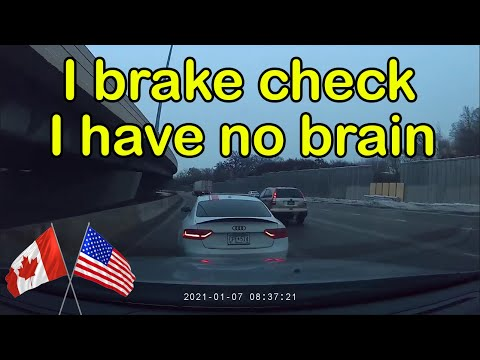 Road Rage USA & Canada | Bad Drivers, Hit and Run, Brake check, Dashcam Footage, Car Crash| New 2021
