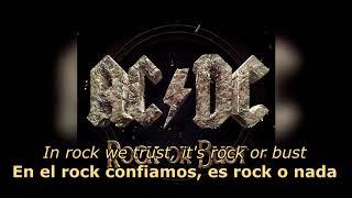Скачать Rock Or Bust Español Inglés AC DC