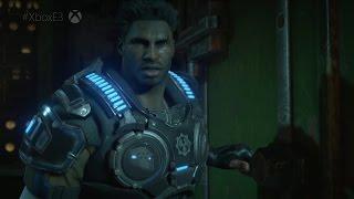 Gears of War 4 - Single Player Co-Op Demo Gameplay [1080p 60FPS HD]