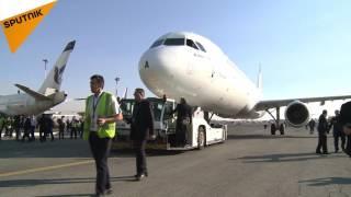 イラン初の旅客機エアバスA321