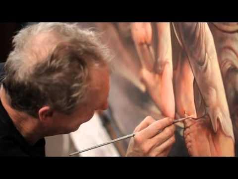 Peter Howson- Meshuggah 2015 [work in progress/Interview] pt 3