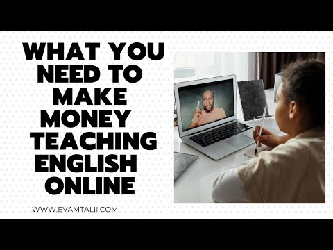Qualifications You Need to Make Money Teaching English Online   Kenyan YouTyber