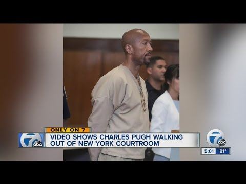 Former Detroit City Council President Charles Pugh being extradited to Detroit