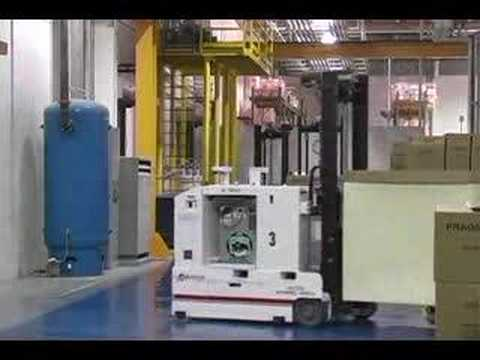 Automated Material Handling Equipment - Forklift AGV