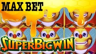 🐝 MAX BET 🐝🚨SUPER BIG WIN & LIVE PLAY 🤯LOVE THESE SLOTS !