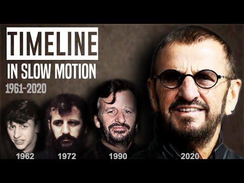 RINGO STARR | Timeline In Slow Motion 1959-2020 - YouTube