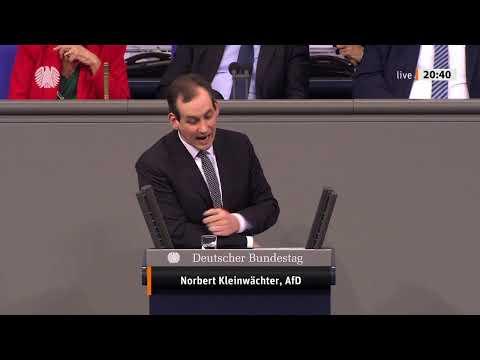 Norbert Kleinwächter live aus dem Bundestag